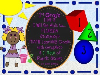 MAFS I WILL BE ABLE TO format First Grade MATH Learning Go
