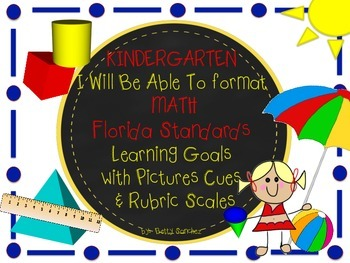 MAFS I WILL BE ABLE TO format Kindergarten MATH Learning G