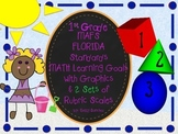 MAFS FLA FIRST GRADE Math Learning Goals with 2 SETS of RU