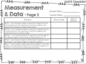 MAFS - Math Florida Standards {4th Grade - Rainbow Stripe}