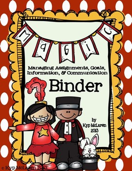 MAGIC Binder Set