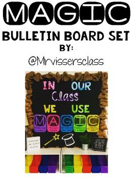 MAGIC Bulletin Board Set