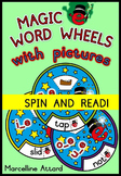 LONG VOWELS: MAGIC E WORD WHEELS: PHONICS READING ACTIVITI