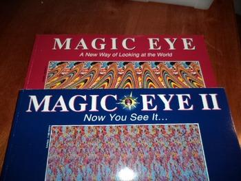 MAGIC EYE 11                (SET OF 2)