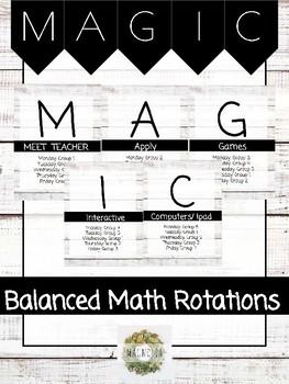 MAGIC Math Rotation Boards
