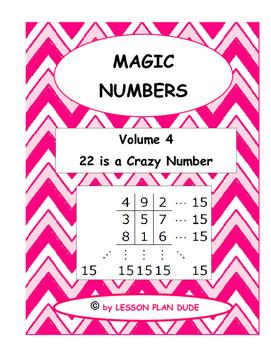 MATH- FUN ACTIVITY-MAGIC NUMBERS VOLUME 4- MATH- NO PREP