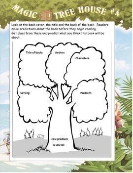 MAGIC TREE HOUSE #4 Pirates Past Noon ELA Novel Study Guide