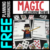 MAGIC Theme Decor Planner by Clutter Free Classroom