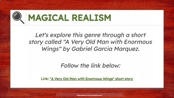 MAGICAL REALISM MINI-LESSON | An Introduction in Genre
