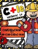 MAGNETIC LE {C+LE} SYLLABLE Construction and De-con-struc-tion