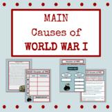 MAIN Causes of World War I
