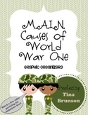 M.A.I.N Causes of World War One Graphic Organizer