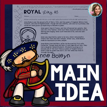 MAIN IDEA AND SUPPORTING DETAILS PASSAGES