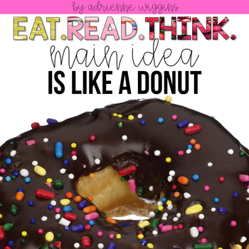 MAIN IDEA is like a Doughnut (Eat. Read. Think.)