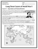 MAIN causes of WWI mini-unit