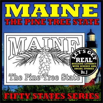 MAINE: The Pine Tree State (Fifty States series)