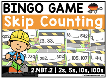 Math Games BUNDLE for 2.NBT.1 - 8 (Memory Match, Movement Game, BINGO Games)