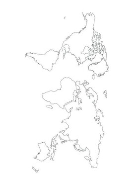 MAJOR CITIES of the World Mapping Worksheet