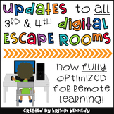 MAJOR Updates to Digital Escape Rooms: Grades 3 & 4