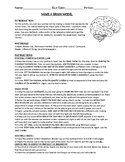 MAKE A BRAIN MODEL - Hands On Activity