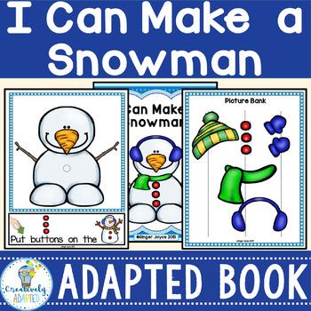 WINTER BUILD A SNOWMAN-ADAPTED BOOK