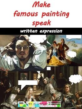 MAKE FAMOUS PAINTING SPEAK