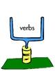 MAKE THE GOAL File Folder Game differentiating Nouns & Verb