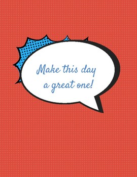 MAKE THIS DAY A GREAT ONE! (Poster)