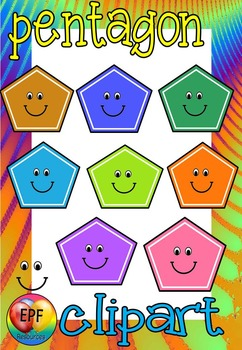 MAKE YOUR OWN PENTAGON CLIP ART ( 50% off for 24 hours)