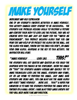 MAKE YOURSELF - TRANSPORTATION