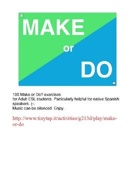 MAKE vs DO APP