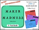 MAKER MADNESS Challenges 3-Pack Bundle