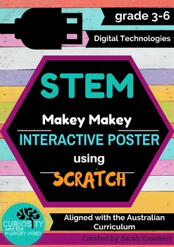 MAKEY MAKEY AND SCRATCH INTERACTIVE POSTER - Full Unit of Work