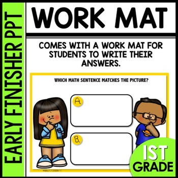 Early Finishers Activities | MAKING A TEN