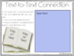 DIGITAL MAKING CONNECTIONS READING RESPONSE LOG IN GOOGLE SLIDES™ AND POWERPOINT