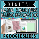 MAKING CONNECTIONS DIGITAL READING RESPONSE LOG IN GOOGLE