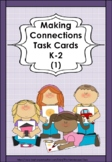 MAKING CONNECTIONS Task Cards using REALISTIC Photos K-1