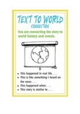 MAKING CONNECTIONS - Reading Strategies Posters