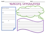 MAKING INFERENCES (CHARACTER FEELINGS)