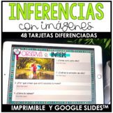 Making inferences from pictures in Spanish |  LA INFERENCIA | GOOGLE SLIDES™