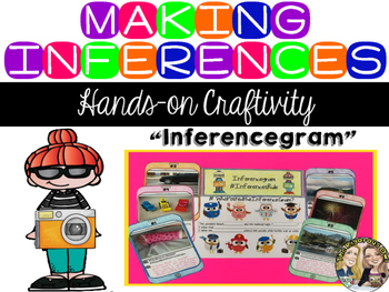 Making Inferences Craftivity Inferencegram Style!
