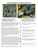 MAKING INFERENCES (Science Connection)