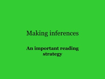 MAKING INFERENCES USING CLOSE READING NARRATIVE FICTION 4TH-6TH GRADES
