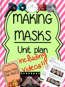 MAKING MASKS - Unit Plan