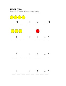 MAKING NUMBER COMBINATIONS (4&5)