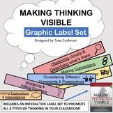 MAKING THINKING VISIBLE - Graphic Label Set