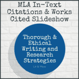 MLA In-Text Citations and Works Cited Slideshow