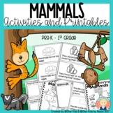 MAMMALS CHARACTERISTICS -Life Cycle, Activities and Printa