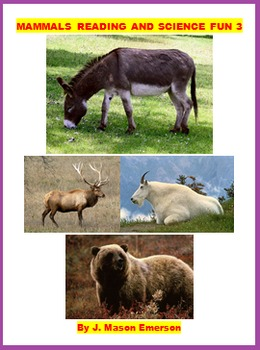 MAMMALS READING AND SCIENCE FUN (FREE FOR NOW, COMMON CORE