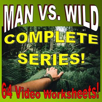 MAN VS WILD - EVERY ADVENTURE SUPER BUNDLE - (64 Video She